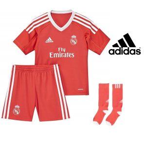 Adidas® Equipamento Real Madrid Oficial Júnior | Tecnologia Climalite®