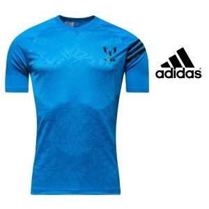 Adidas® T-Shirt Messi Blue Junior | Tecnologia Climalite®
