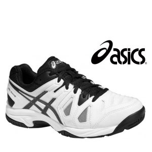 Asics® Sapatilhas Gel Gamepoint GS White and Black