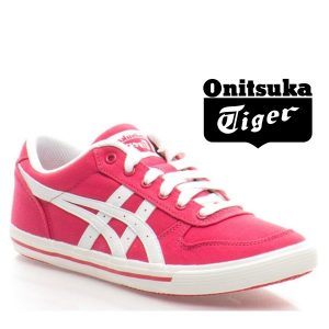 Onitsuka Tiger® Sapatilhas Aarogn Gs Raspberry and White