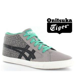 Onitsuka Tiger® Sapatilhas Aarogn Gs Light Grey and Black