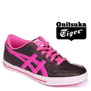 Onitsuka Tiger® Sapatilhas Aaron GS Black and Pink