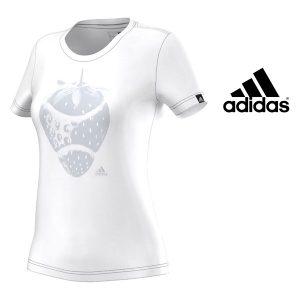 Adidas® T-Shirt Wimbledon White | 100% Algodão