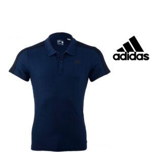 Adidas® Polo Blue Essentials 3S | Tecnologia Climalite® - Tamanho XS - S