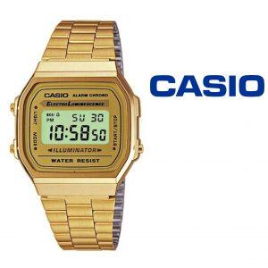 Relógio Casio® A168WG-9EF