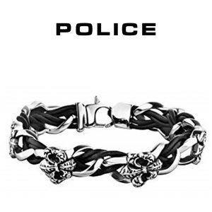 Pulseira Police® PJ25690BLB.01-S | 19cm
