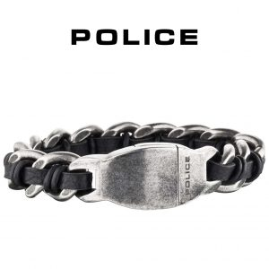 Pulseira Police® PJ25600BSE.01-S | 19cm