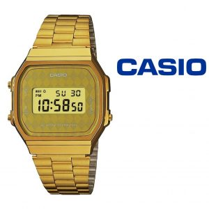 Relógio Casio® A168WG-9BWEF