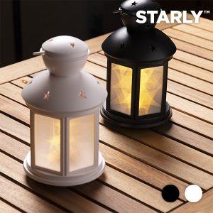 Lanterna LED Com Estrelas | Disponível em 2 Cores!