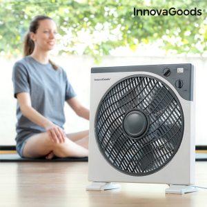 Ventilador de Solo Box Home Climate Ø 30 cm  50w Branco