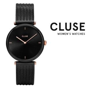 Relógio Cluse® Triomphe Mesh Black | 33MM