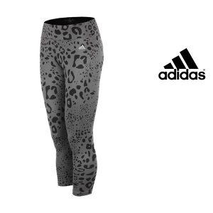 Adidas® Calças de Treino Tight Grey and Black | Tecnologia Climalite®