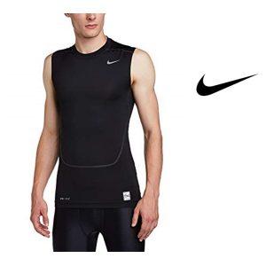 Tee-shirt d'entraînement Nike®, noir