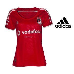 Adidas® Camisola Besiktas Oficial BJK 14 Red Women | Tecnologia Climacool®