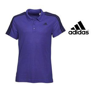 Adidas® Polo Essentials Purple | Tecnologia Climalite®