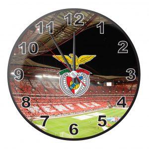 Relógio de Parede Licenciado SLB - 25 X 25cm
