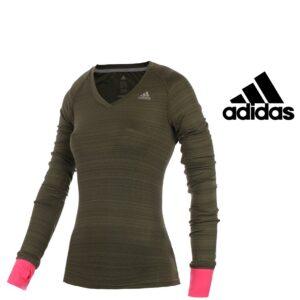 Adidas® Camisola Supernova Verde | Tecnologia Climacool®