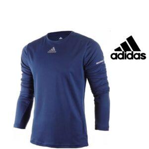 Adidas® SweatShirt Running Blue | Climalite® Technology