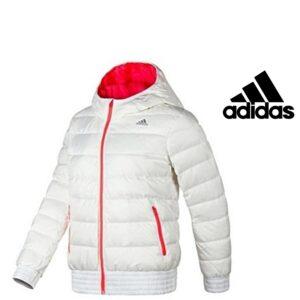 Adidas® Casaco Impermeável Cosy Down White