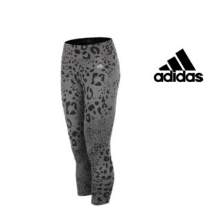 Adidas® Calças de Treino Tight Grey and Black | Tecnologia Climalite®