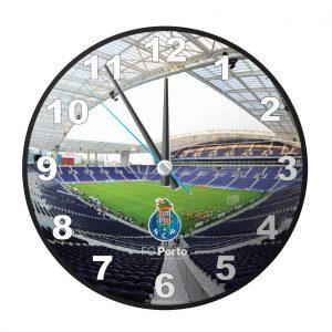 Relógio de Parede Licenciado FCP - 25 X 25cm