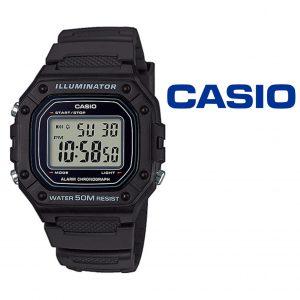 Relógio Casio® W-218H-1AVEF