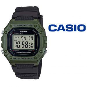 Relógio Casio® W-218H-3AVEF