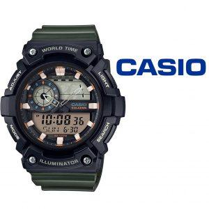 Relógio Casio® AEQ 200W 3AVDF