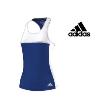 Adidas® Caveada De Treino Blue and White | Tecnologia ClimaCool®
