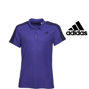 Adidas® Polo Essentials Purple | Tecnologia Climalite®
