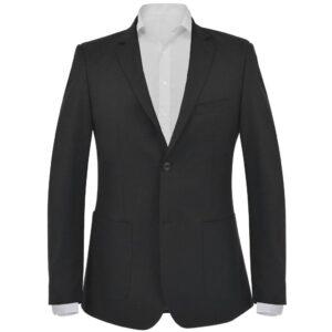 Blazer para homem tamanho 56 preto - PORTES GRÁTIS