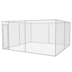 Canil exterior 4x4 m - PORTES GRÁTIS