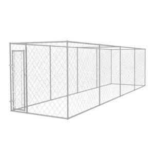 Canil exterior 8x2 m - PORTES GRÁTIS