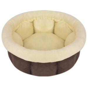 Cama para cães castanho tamanho XL - PORTES GRÁTIS