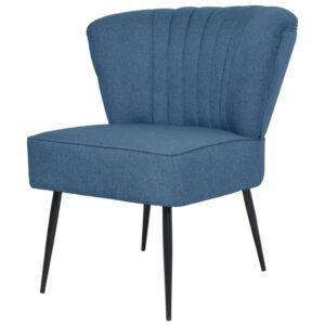 Cadeira de cocktail azul - PORTES GRÁTIS