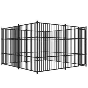 Canil de exterior 300x300 cm - PORTES GRÁTIS
