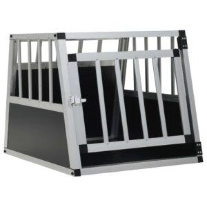Transportadora para cães com porta única 54x69x50 cm - PORTES GRÁTIS