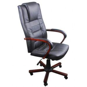 Cadeira de escritório luxuosa preto - PORTES GRÁTIS