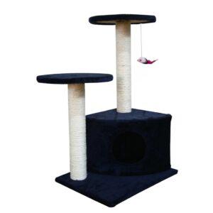 Arranhador para gatos, azul escuro - PORTES GRÁTIS