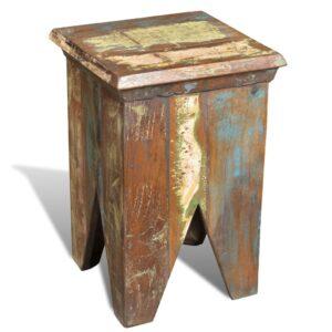 Banco de madeira recuperada, estilo antigo  - PORTES GRÁTIS