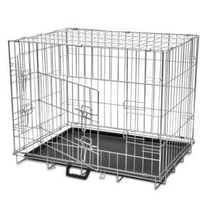 Caixa para cão dobrável L - PORTES GRÁTIS