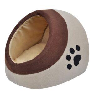Cubo para gato em lã de poliéster quente M - PORTES GRÁTIS