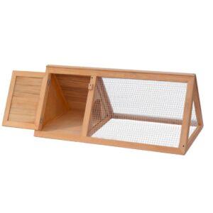 Gaiola para coelho madeira - PORTES GRÁTIS