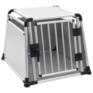 Transportadora para cães alumínio L - PORTES GRÁTIS