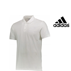Adidas® Polo Branco Oficial All Blacks | Tecnologia Climalite
