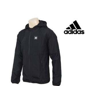 Adidas® Casaco Preto com Carapuço | Tecnologia Climalite®