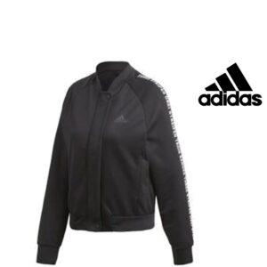 Adidas® Casaco Preto Bomber | Senhora