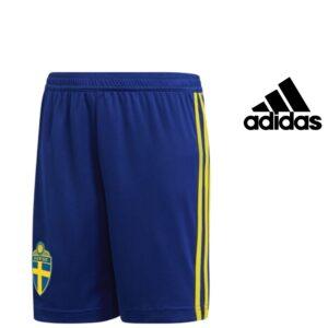 Adidas® Calções Junior Suécia Azuis | Tecnologia Climalite