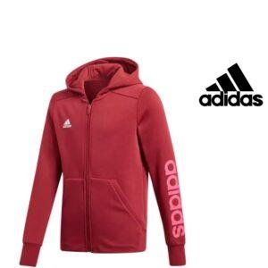 Adidas® Casaco Junior Vermelho com Capuz