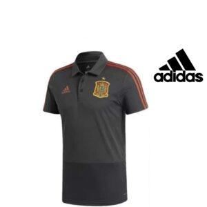 Adidas® Polo Espanha Cinzento | Tecnologia Climalite